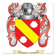 Perazzi Coat of Arms (Family Crest) Square Car Mag