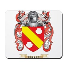 Perazzi Coat of Arms (Family Crest) Mousepad