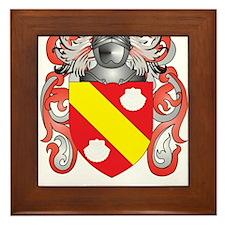 Perazzi Coat of Arms (Family Crest) Framed Tile