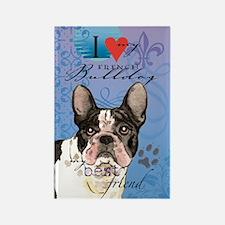 French Bulldog Rectangle Magnet
