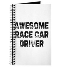 Awesome Race Car Driver Journal