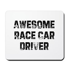 Awesome Race Car Driver Mousepad
