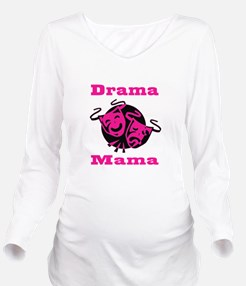 Drama Mama Long Sleeve Maternity T-Shirt