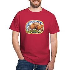 Armadillo Rose Texas T-Shirt