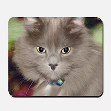 Pi the Cat Mousepad