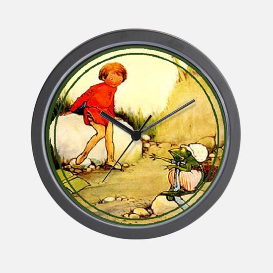 Mabel Lucie Attwell - Revamped #1 - Wall Clock