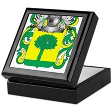 Pereira Coat of Arms (Family Crest) Keepsake Box