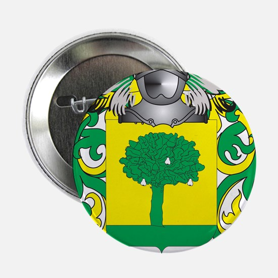 """Pereira Coat of Arms (Family Crest) 2.25"""" Button"""