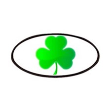 Green Shamrock Patches
