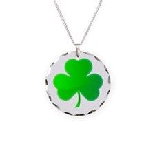 Green Shamrock Necklace