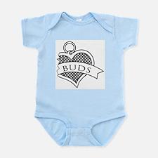 Best Buds Black (Buds) Infant Bodysuit