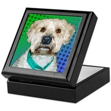 Phoebe the Wheaten Keepsake Box