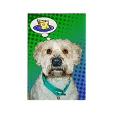 Phoebe the Wheaten Rectangle Magnet