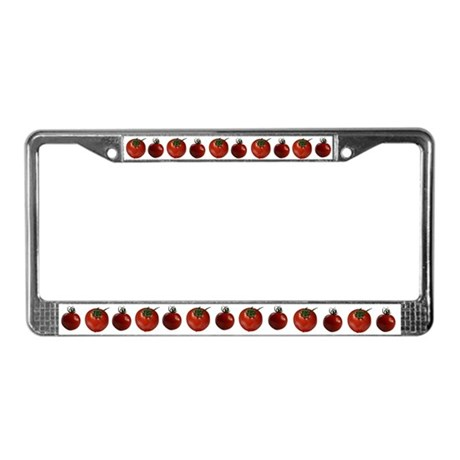 Tomatoes License Plate Frame
