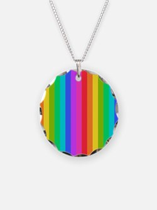 Rainbow Stripe Necklace