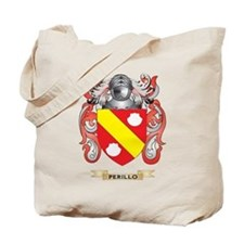 Perillo Coat of Arms (Family Crest) Tote Bag
