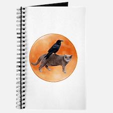Cat Raven Moon Journal