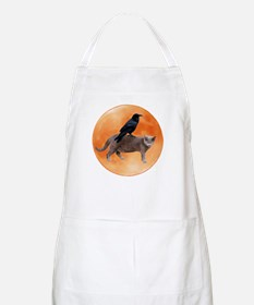 Cat Raven Moon Apron