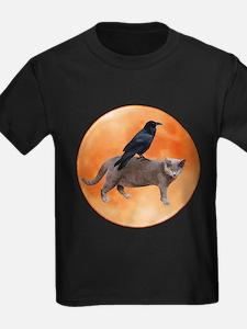 Cat Raven Moon T