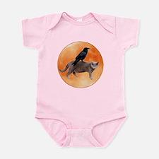Cat Raven Moon Infant Bodysuit