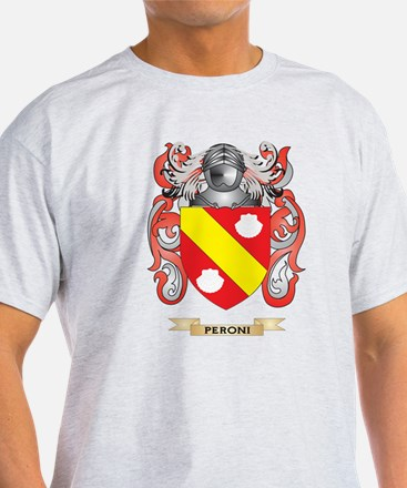 Peroni Coat of Arms (Family Crest) T-Shirt