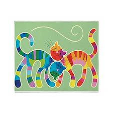 Kitty Katz Throw Blanket