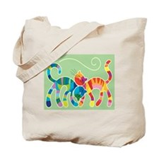 Kitty Katz Tote Bag