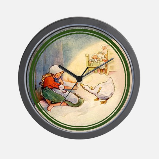 Mabel Lucie Attwell - Revamped #2 - Wall Clock