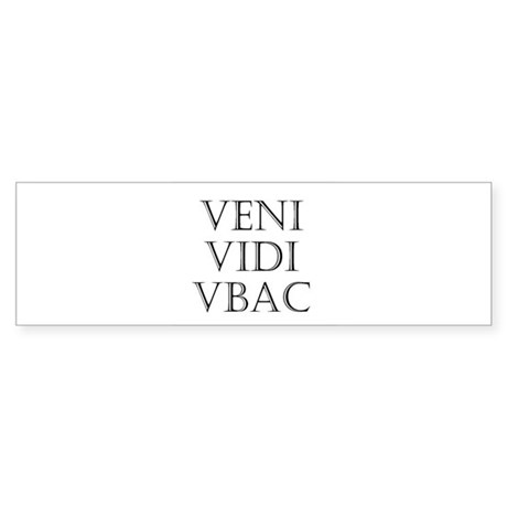 VBAC Bumper Sticker