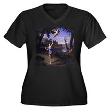 Colombel Cupid and Psyche Plus Size T-Shirt