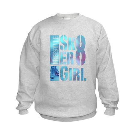 Sk8er Girl Kids Sweatshirt