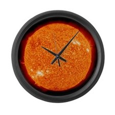 Sun Large Wall Clock