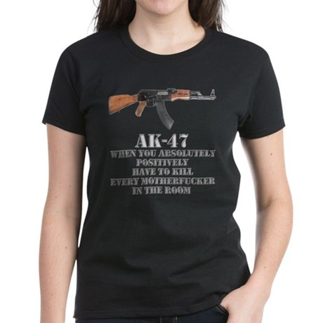 AK-47 Women's Dark T-Shirt