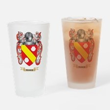 Perris Coat of Arms (Family Crest) Drinking Glass