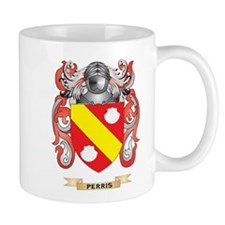 Perris Coat of Arms (Family Crest) Mugs