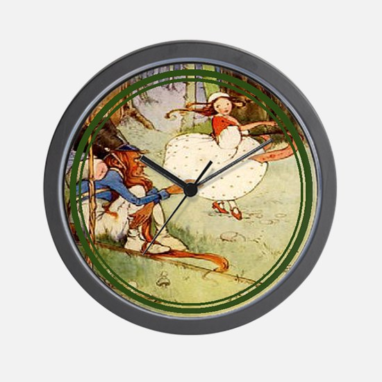 Mabel Lucie Attwell - Revamped #4 - Wall Clock