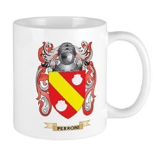 Perroni Coat of Arms (Family Crest) Mugs