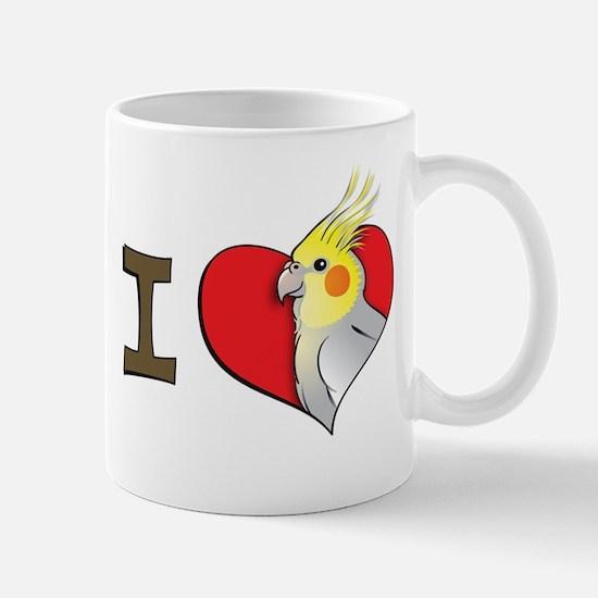 I heart cockatiels Mug