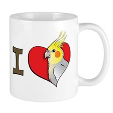 I heart cockatiels Coffee Mug