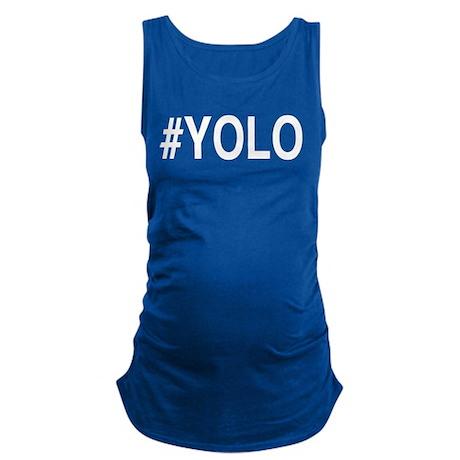 #YOLO Maternity Tank Top