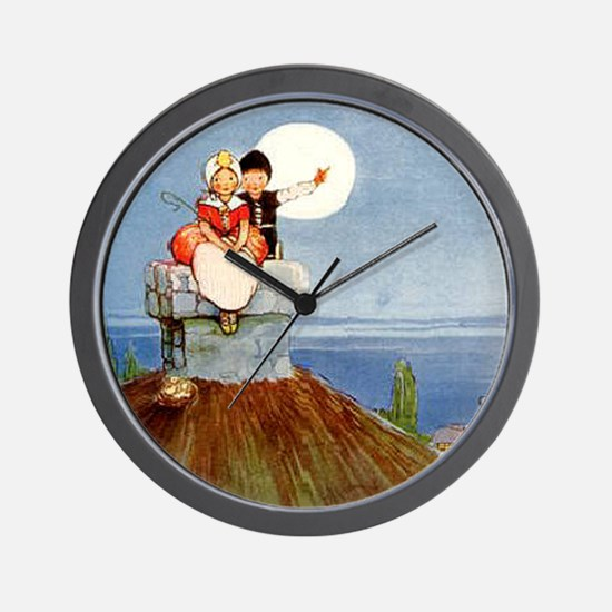 Mabel Lucie Attwell - Revamped #5 - Wall Clock