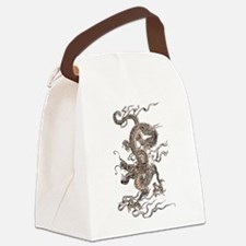 Chinese Dragon Canvas Lunch Bag