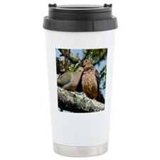 Love doves peace and joy Travel Mug