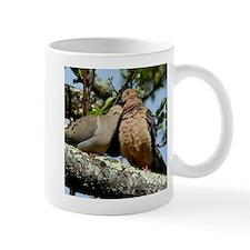Love doves peace and joy Mugs