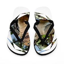 Love doves peace and joy 4 Flip Flops