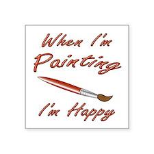 Painting Sticker