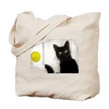 Tote Bag From The Cat Room HSJC Logo Too
