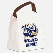 Warehouse Worker (Worlds Best) Canvas Lunch Bag