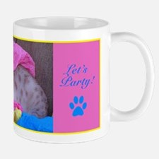 Bengal Seal Lynx Point Snow Leopard Party Cat~Mug
