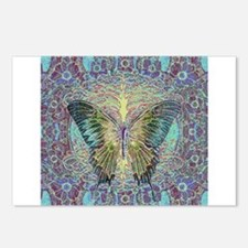 Butterfly and Tree of Life Postcards (Package of 8